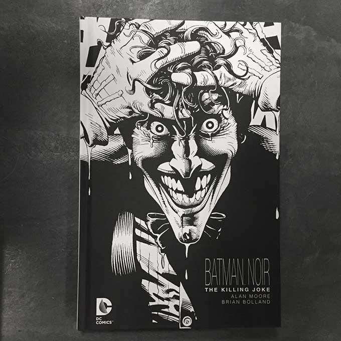 presented in stark black and white batman noir takes on the origin