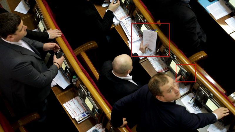 Ukrainian Mps Caught Illegally Casting Multiple Votes In Parliament