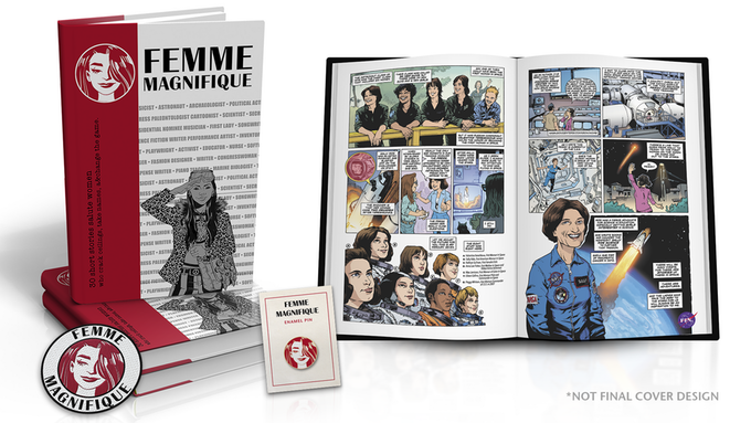 91971be3c The fabulous Shelly Bond, former DC Vertigo editor and head honcho, just  launched a kickstarter for an anthology called Femme Magnifique that she's  doing in ...