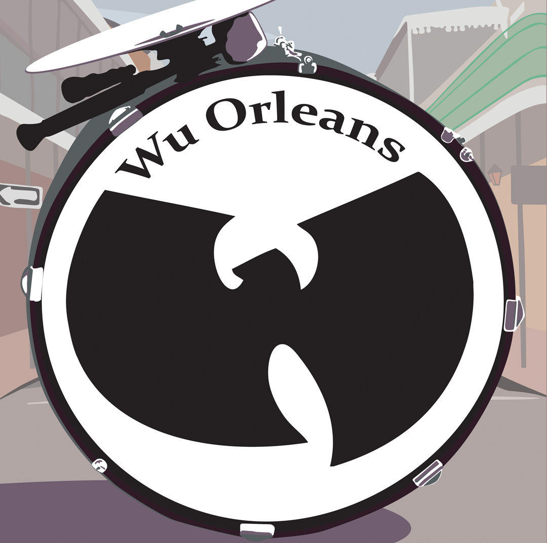 Wu Orleans 2: mashups of New Orleans music and Wu Tang rappers