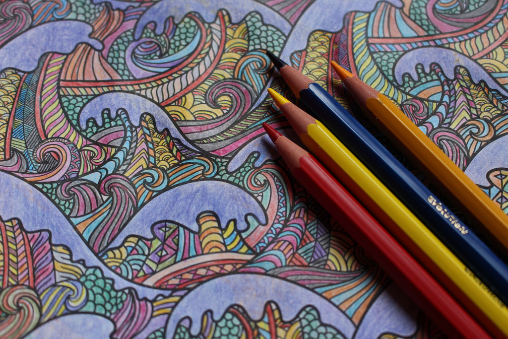 Declining Adult Coloring Book Sales Challenge Bookselling S Recovery