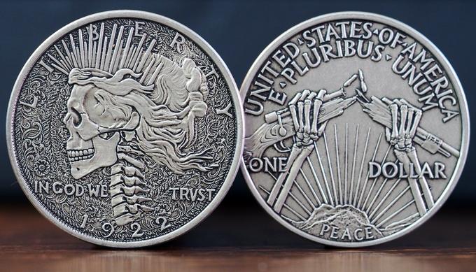 Kickstarting modern hobo coins