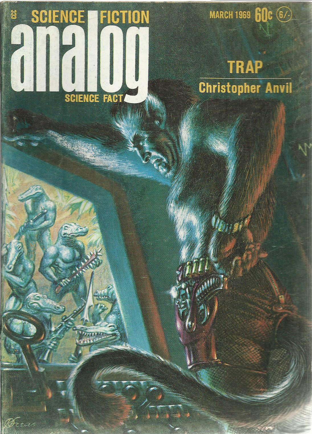 Sci-Fi Sundays: Analog, March 1969