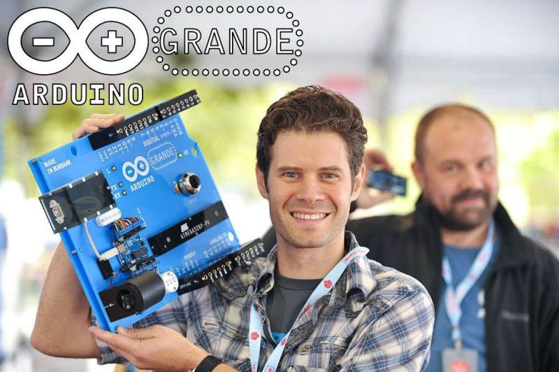 How to make a gigantic Arduino