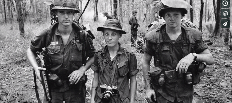 Fascinating documentary on combat photojournalist Catherine LeRoy