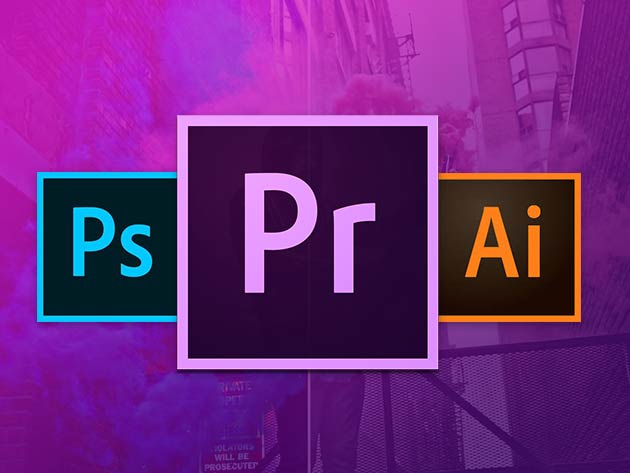 Master the Adobe Creative Cloud here and become a meme factory