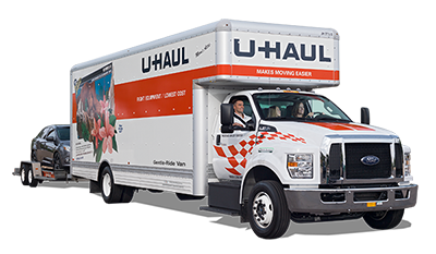 culprit evades police in high speed u haul getaway boing boing. Black Bedroom Furniture Sets. Home Design Ideas