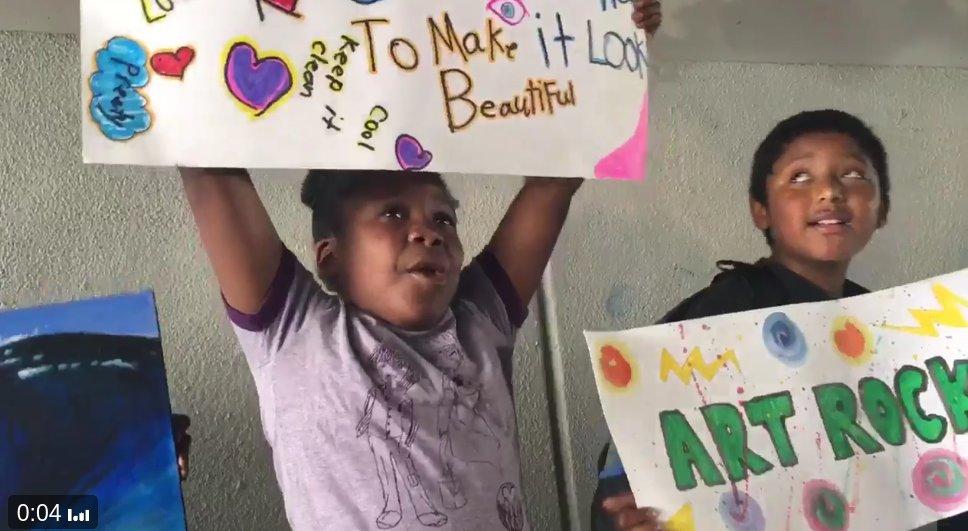 Oakland elementary school students resist Caltrans' insistence on