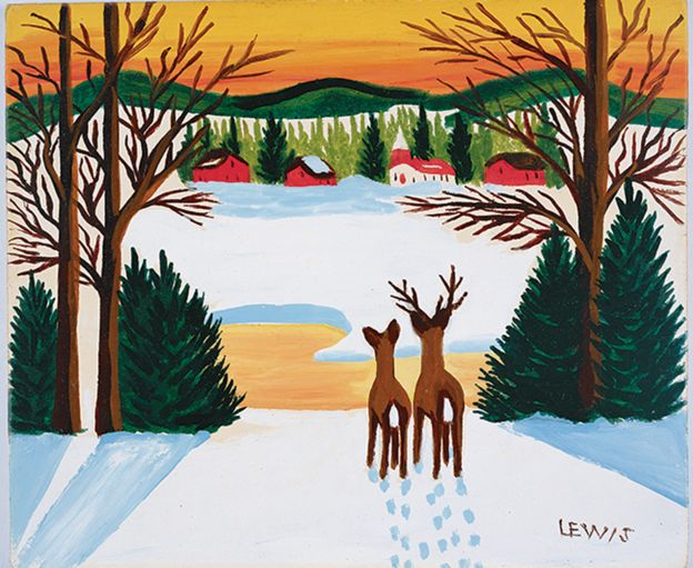 Folk Art Paintings Nova Scotia