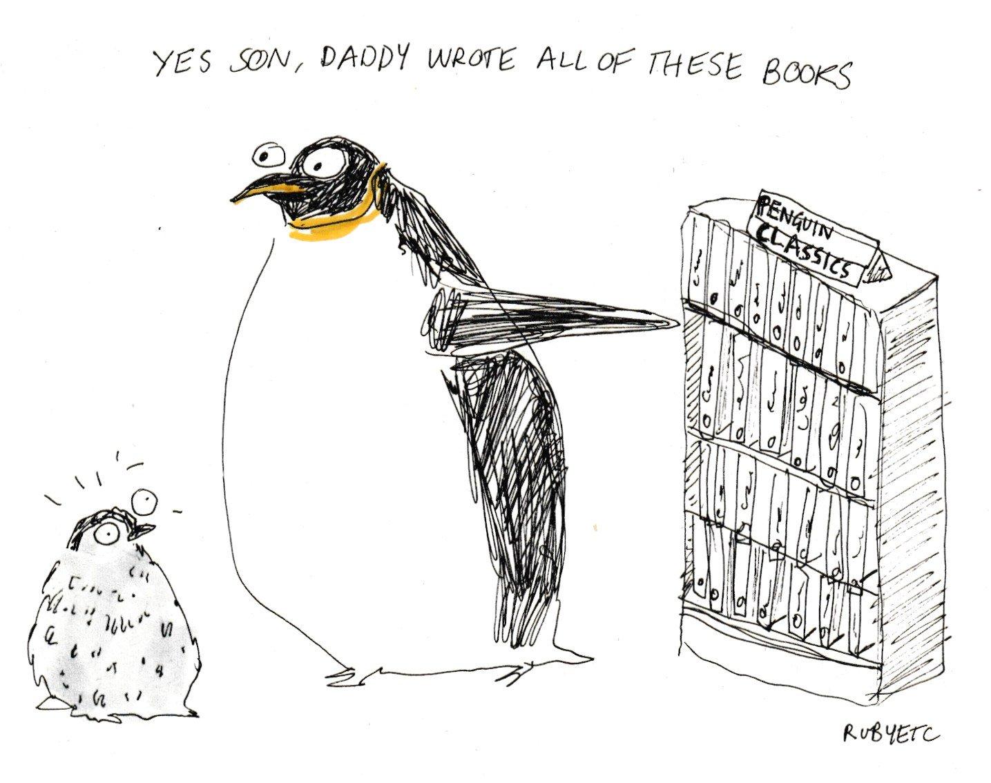 A perfect penguin pun