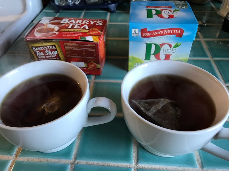 Barry S Is Ireland Finest Black Tea In A Bag Folks Seems Awful Fond Of Pg Tips And Someone Brought Me Box