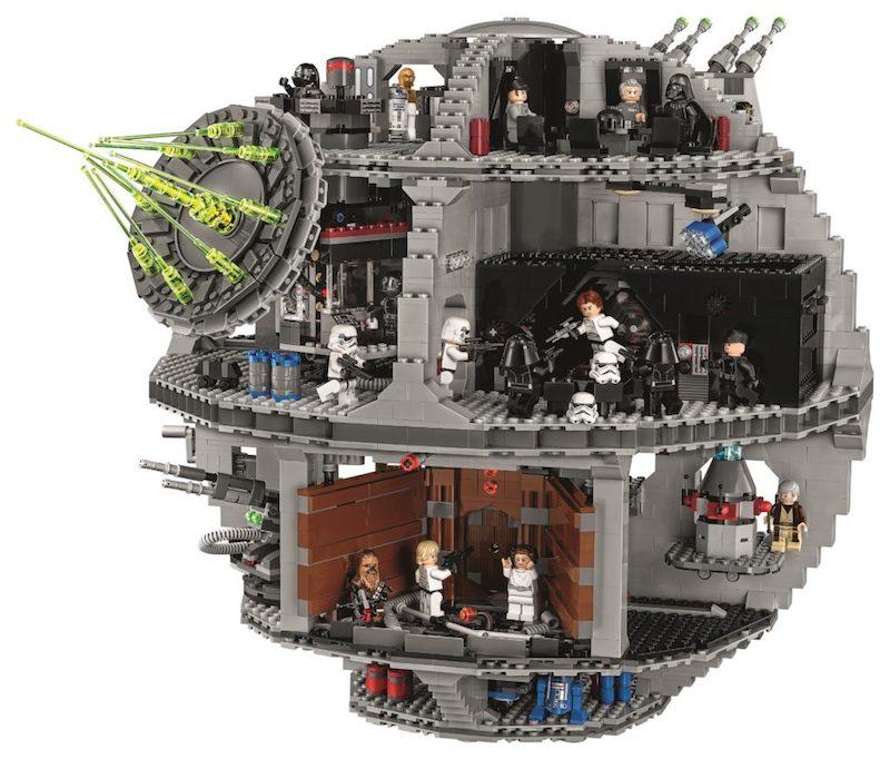 Slightly Bigger Lego Death Star Boing Boing