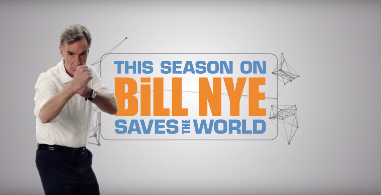 Bill Nye Gets An Updated Theme Song For His New Netflix Show
