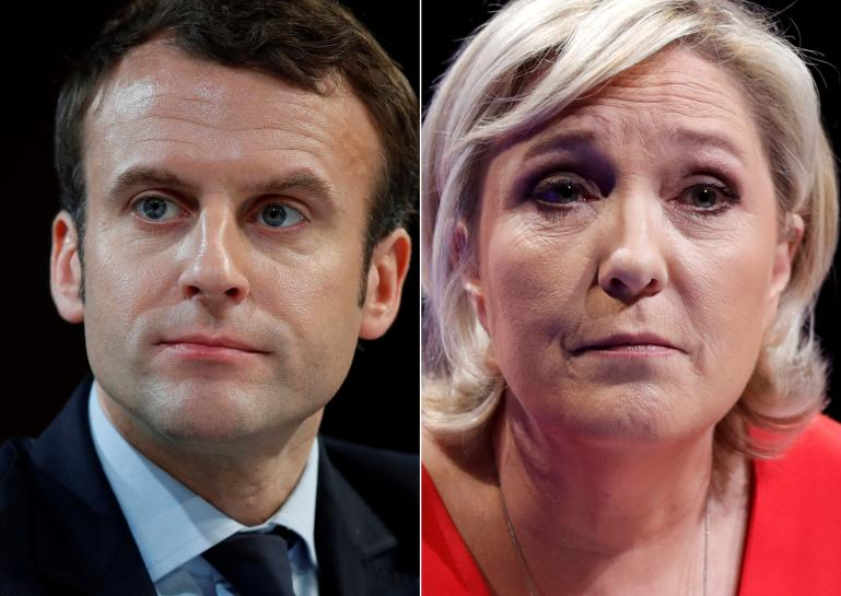 Macron and Le Pen to face off in French presidential runoff vote, May 7