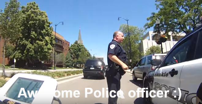 Skokie Police Department Car Seat