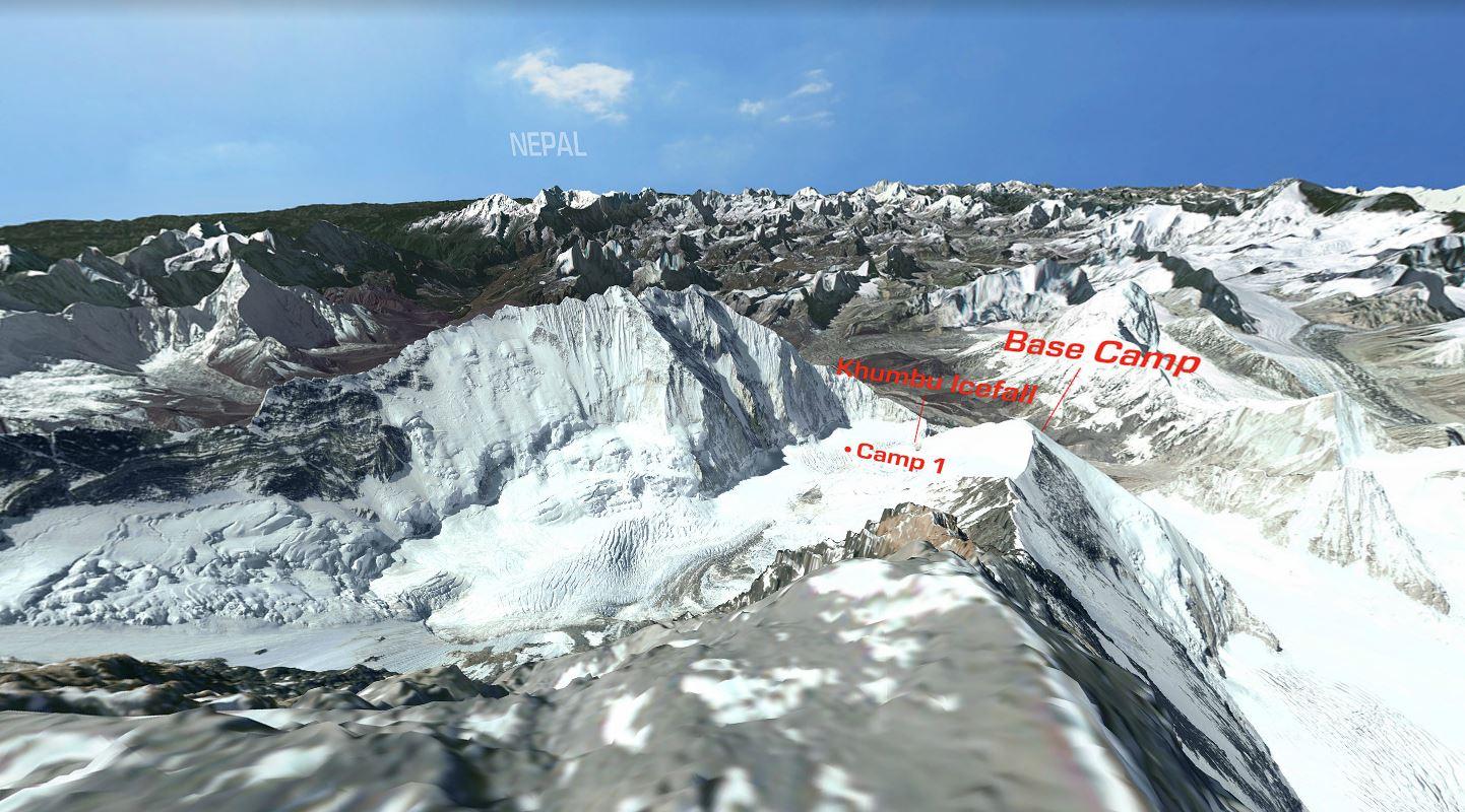 Explore Mount Everest in 3D