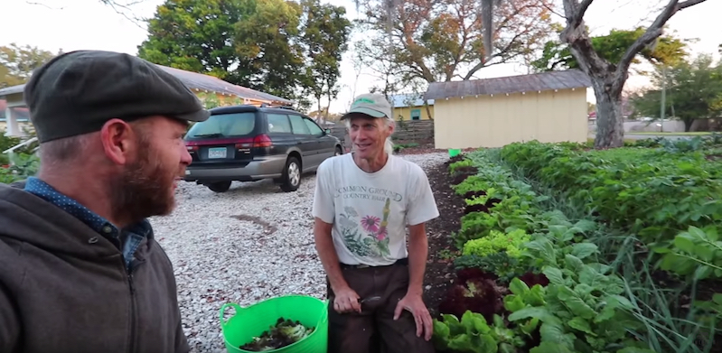 Guy makes good money farming in other people's yards
