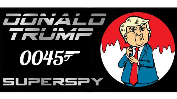 Donald Trump 0045 - Superspy!
