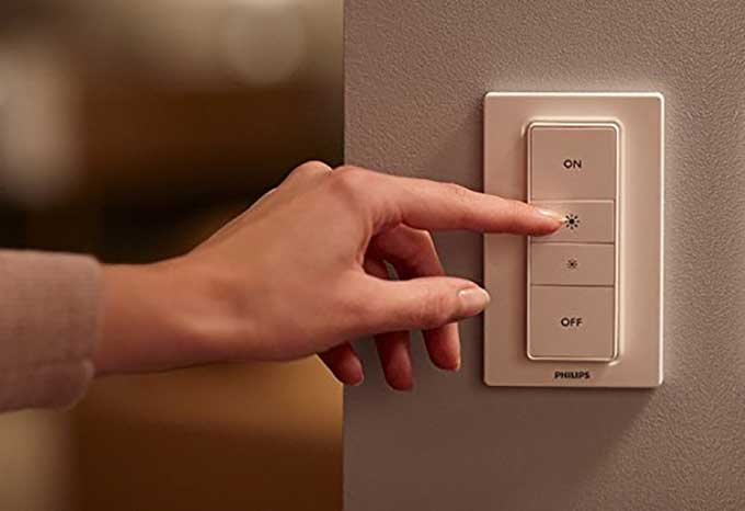 Phillips wireless dimmer switch - hassle free lighting