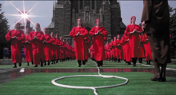 Remembering the original, Harold Pinter screen adaptation of The Handmaid's Tale