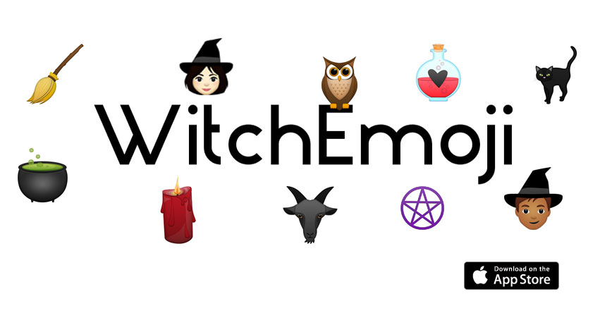 Bell, book, and emoji, bewitching emoticons for your phone