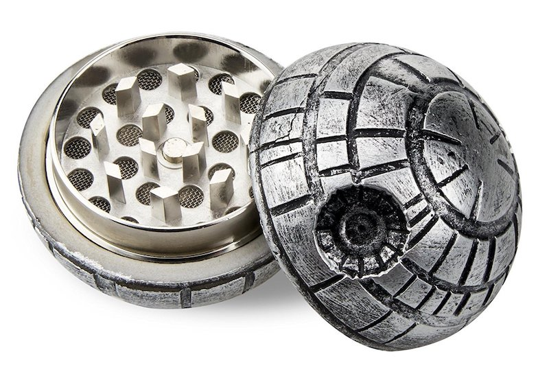 The DEATH STAR, an armored weed grinder with enough power to grind weed
