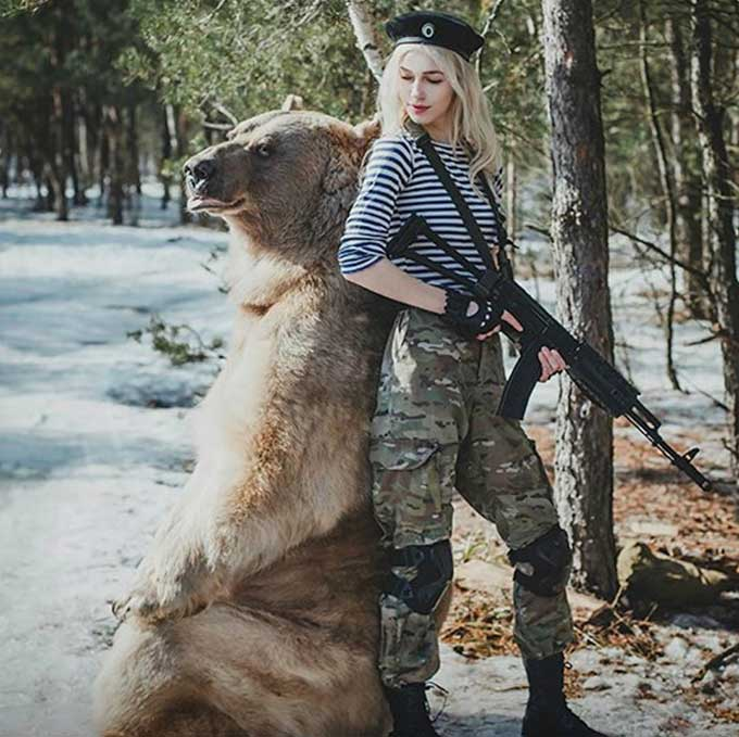 Best Instagram account about Russians and bears