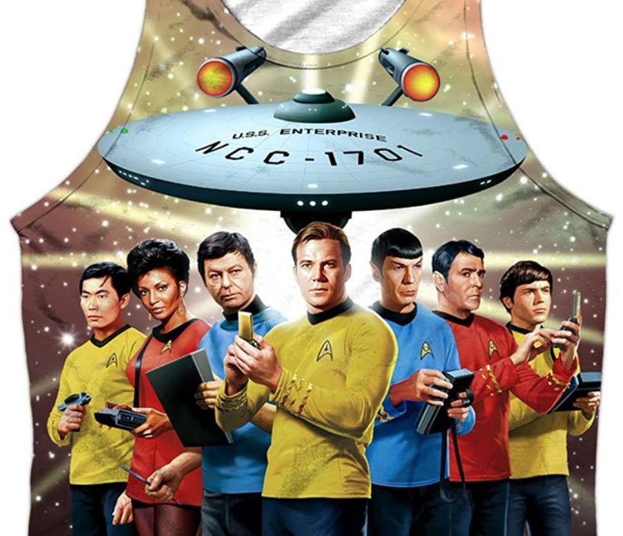 Who will wear this Star Trek tank top in public?