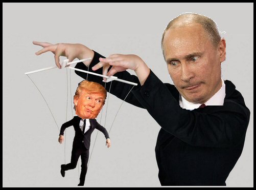 Image result for Trump &Russia