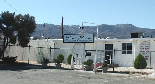 Angry gentleman plows into Moonlite Bunny Ranch with 18-wheeler while women sleeping