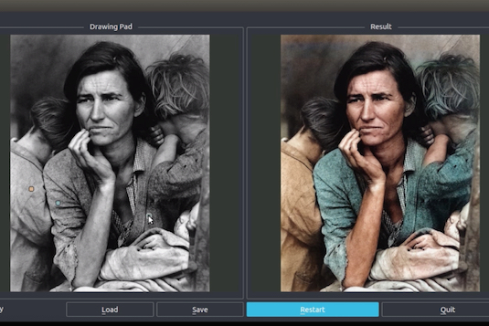 Watch how this app uses AI to colorize vintage photos