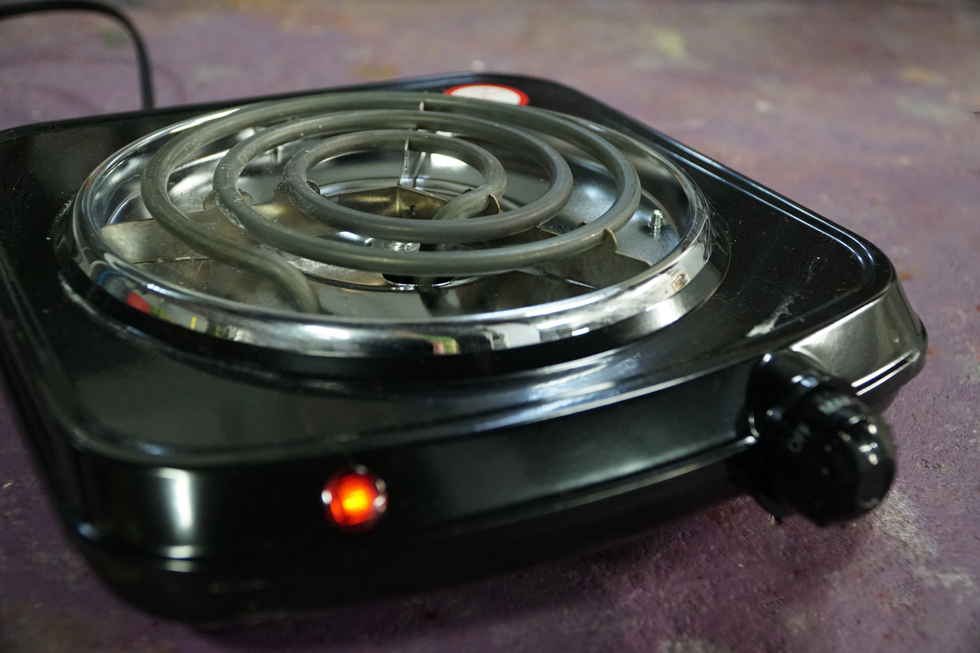 Review: Mainstays $9 Portable Electric Burner
