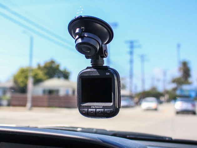 Surveil your own state with the PapaGo Dash Cam