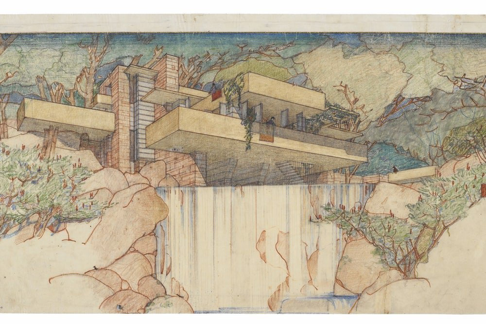 Frank Lloyd Wright Design Philosophy the concepts frank lloyd wright never built / boing boing