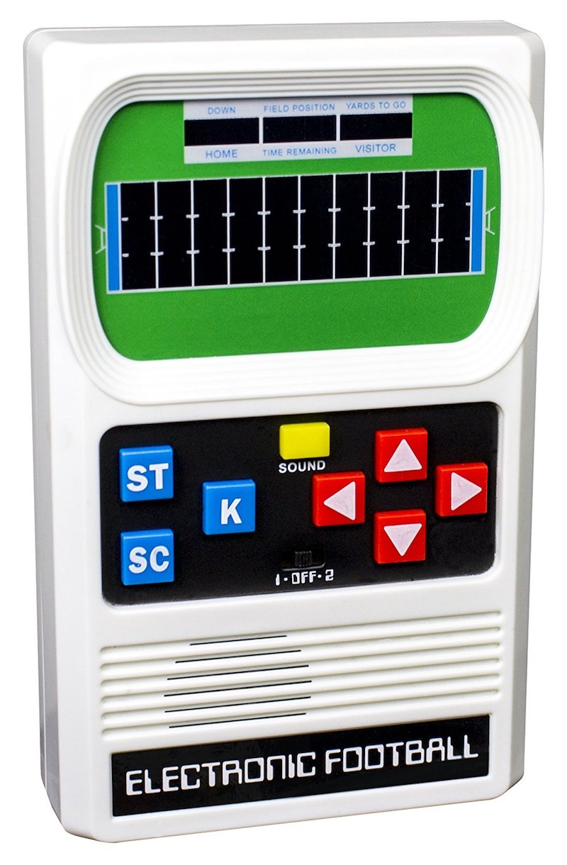 The classic 'Electronic Football' re-issue
