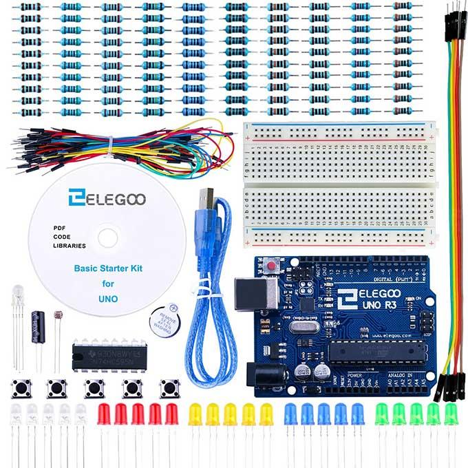 Arduino clone starter kit for boing howldb