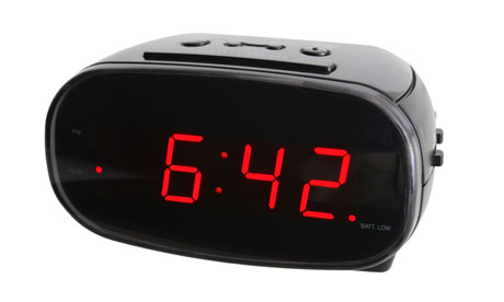 Alarm Clock Dropped Inside Wall Still Going Off Daily