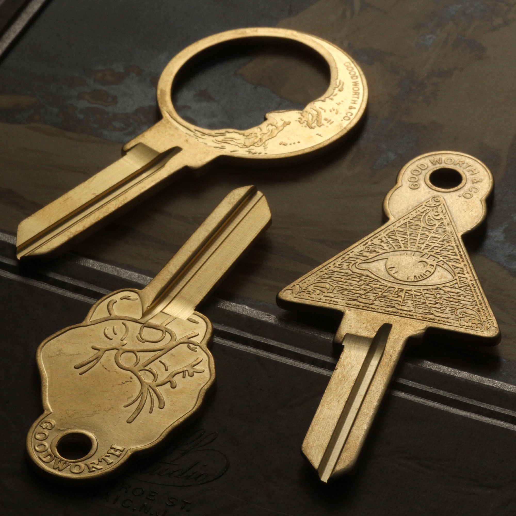 how to get into office door lost key