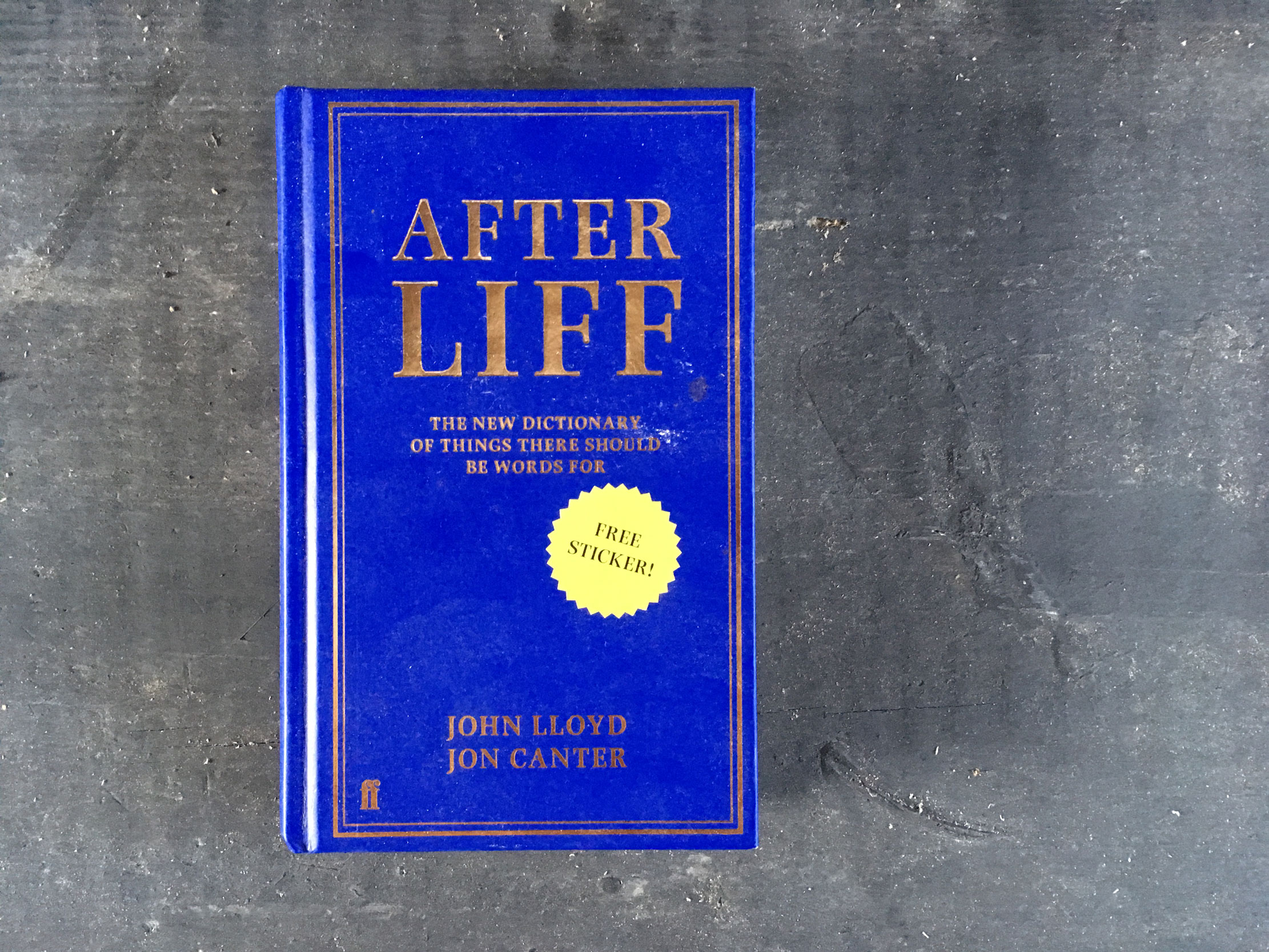 Review: Afterliff, the new dictionary of things there should be words for