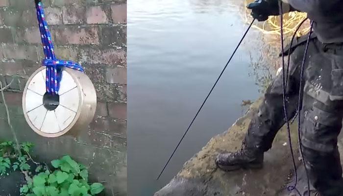 Magnet fishing boing boing for Magnet fishing finds
