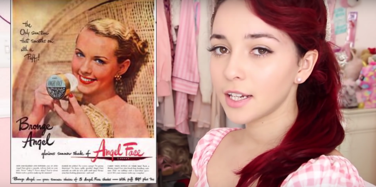 Using actual vintage makeup to create a modern makeup look boing boing baditri Images