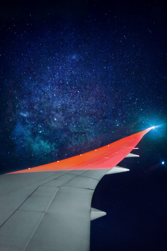 How To Get A Nice Shot Of The Milky Way From Your Airplane Seat