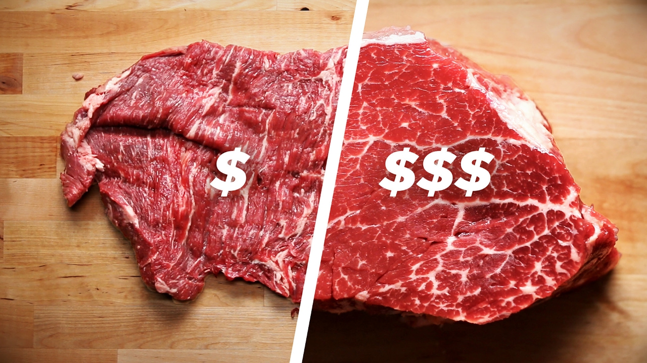 How to cook a cheap steak vs. an expensive one