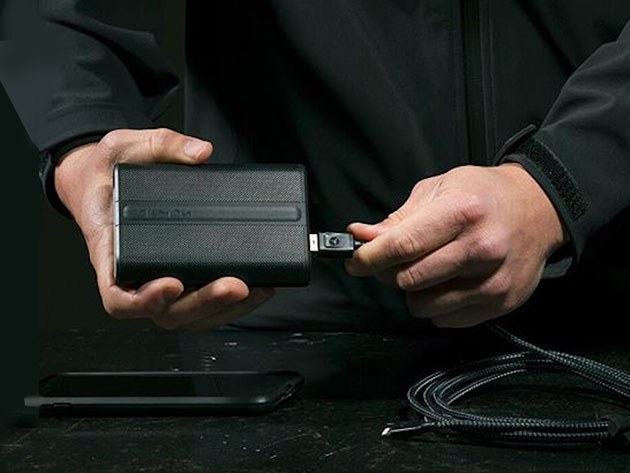 This power pack has a tracker built in, so it will be exceedingly difficult to lose
