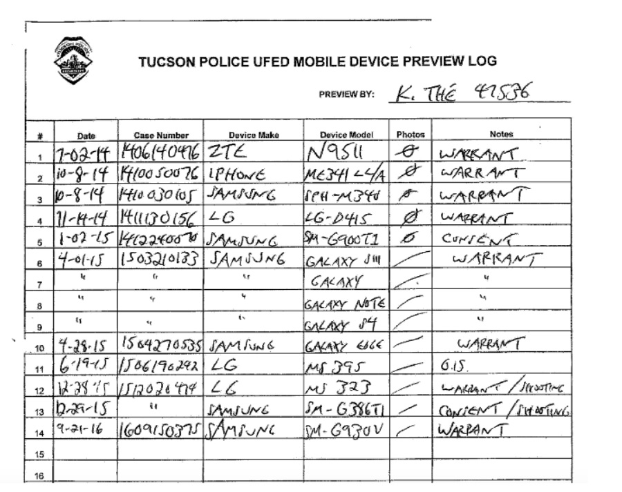 Police now routinely crack and extract all phone data from arrestees