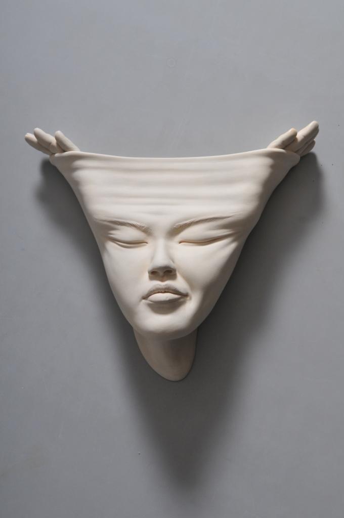 Trippy Ceramic Busts Depict Mind Altering Revelations