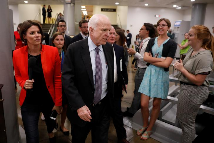 Senate fails to pass 'Skinny Repeal' of Obamacare; McCain cast crucial 'No' vote