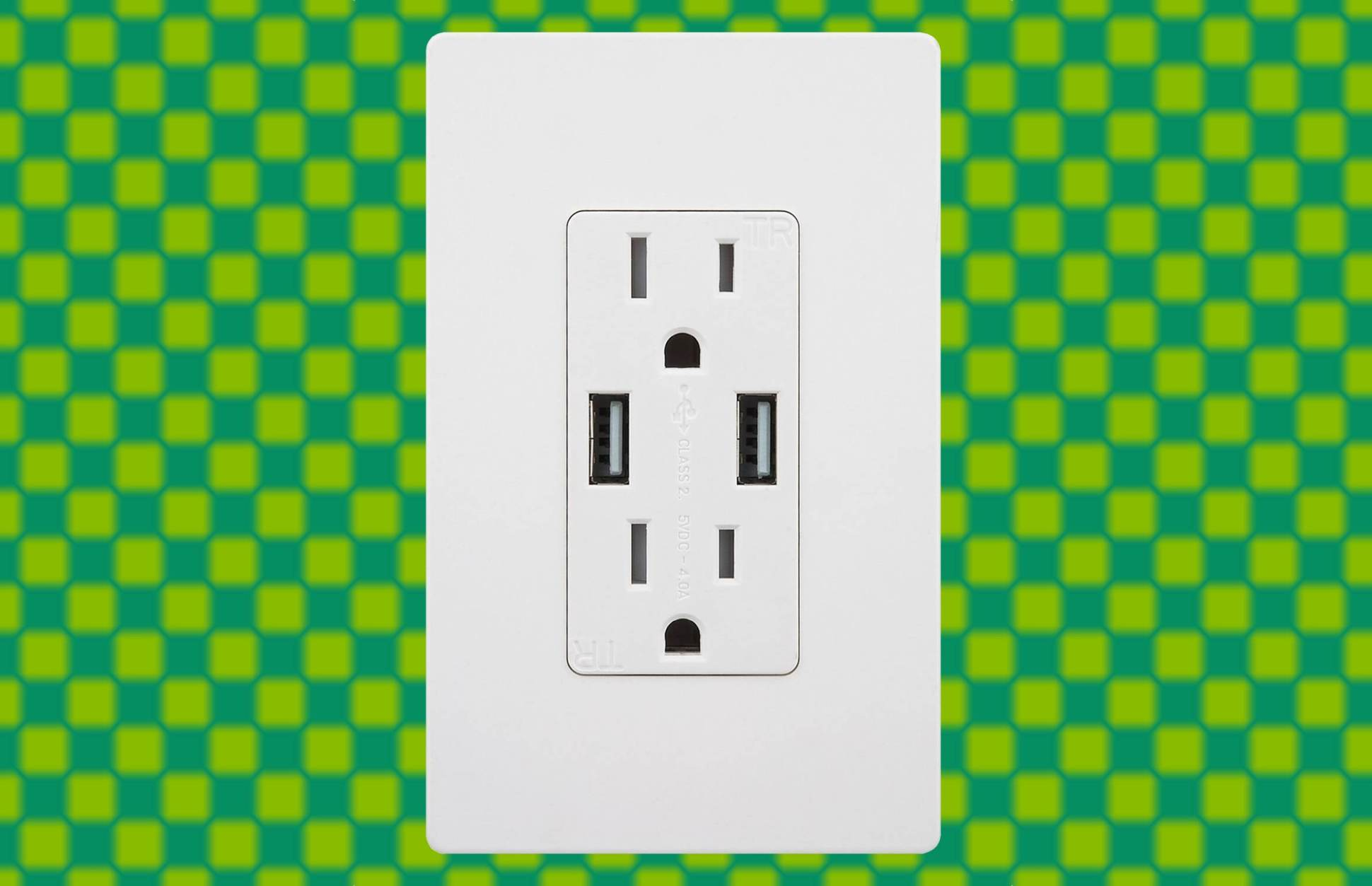 Replace your ac outlets with this dual usb charger boing boing on replace electrical outlet with usb AC Outlet Voltage USB Laptop Docking Station