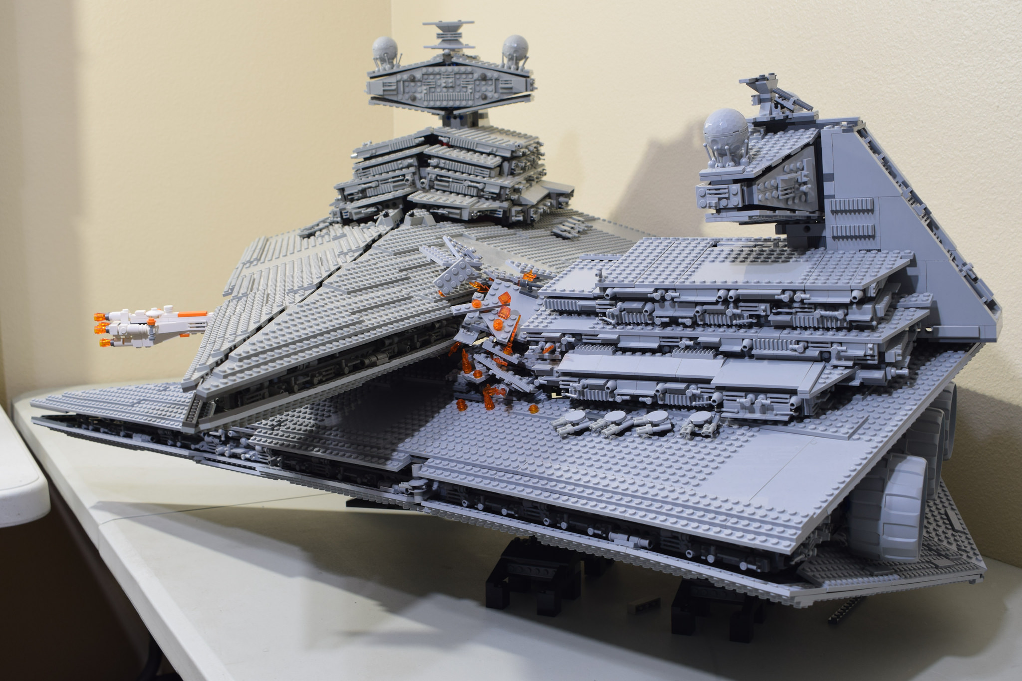 Lego Star Destroyer Collision Boing Boing