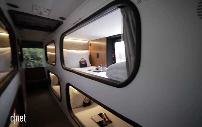 What It S Like To Take The New Sleeper Bus From La To Sf